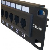 CAT5E PATCH PANELS (6)