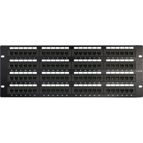 CAT6 96 Port Patch Panel 110 IDC 4U