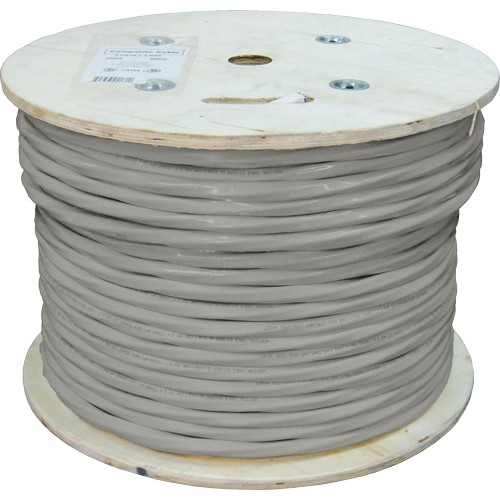 CAT3 50 Pair, Gray PVC Jacket, 24AWG Solid Bare Copper