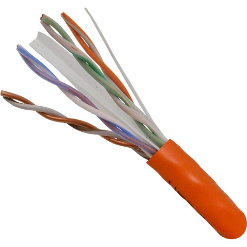 Cat6 Solid Bare Copper 1000FT HDBT Riser Rated 23awg 550MHz CMR Cable