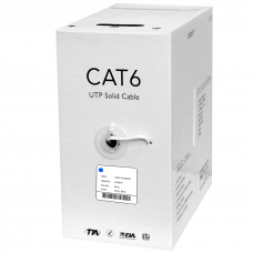 Plenum Cat6 1000ft utp Solid Cable All Colors Free Shipping