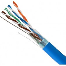 Cat5e Shielded STP Plenum rated UL Listed Solid Bare Copper 1000FT