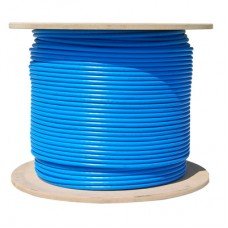 CAT6A PLENUM 1000FT SOLID COPPER SPOOL NETWORK CABLE