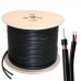 RG59 Siamese Bulk Cable Power pvc Wire 250ft  500ft 1000ft 20AWG+18/2 Security Camera CCTV