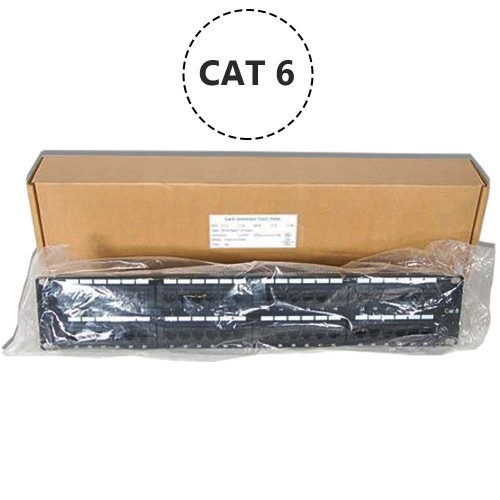 CAT6 48 Port 110 IDC Networking Patch Panel 2U